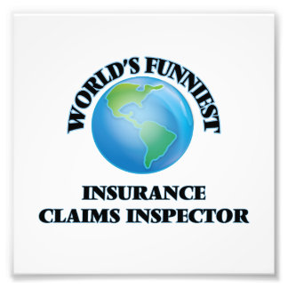 World's Funniest Insurance Claims Inspector Photo