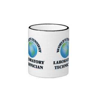 World's Funniest Laboratory Technician Coffee Mugs