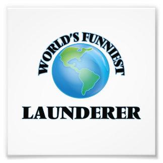 World's Funniest Launderer Photograph