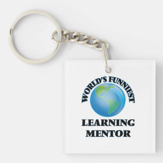 World's Funniest Learning Mentor Acrylic Key Chains