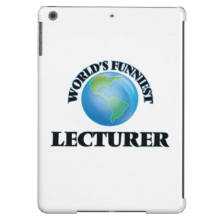 World's Funniest Lecturer iPad Air Case