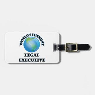 World's Funniest Legal Executive Luggage Tag