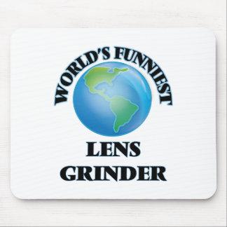 World's Funniest Lens Grinder Mousepad