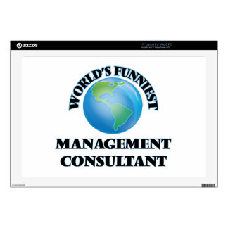 World's Funniest Management Consultant Laptop Skins