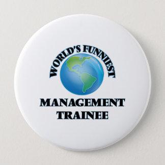 World's Funniest Management Trainee Pinback Button