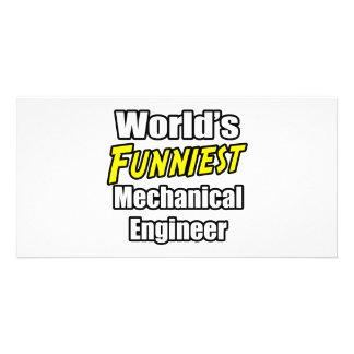 World's Funniest Mechanical Engineer Photo Card