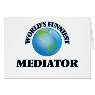 World's Funniest Mediator Card