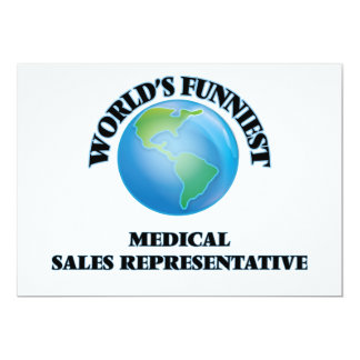 World's Funniest Medical Sales Representative Cards