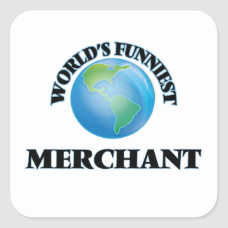 World's Funniest Merchant Square Sticker