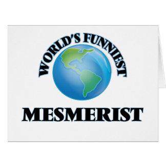 World's Funniest Mesmerist Greeting Cards