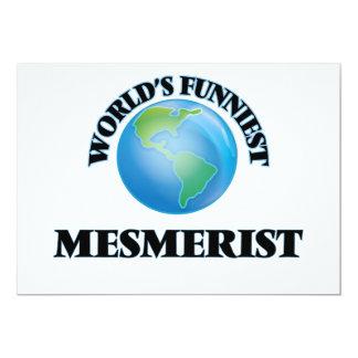"World's Funniest Mesmerist 5"" X 7"" Invitation Card"