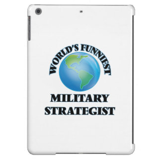 World's Funniest Military Strategist iPad Air Cover