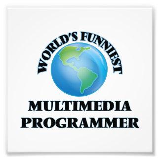 World's Funniest Multimedia Programmer Photo Art