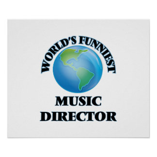 World's Funniest Music Director Poster