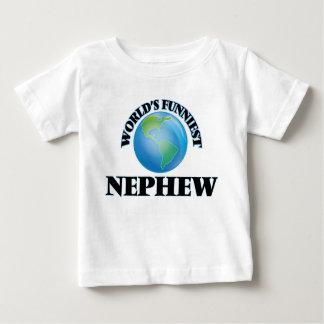 World's Funniest Nephew Tee Shirt