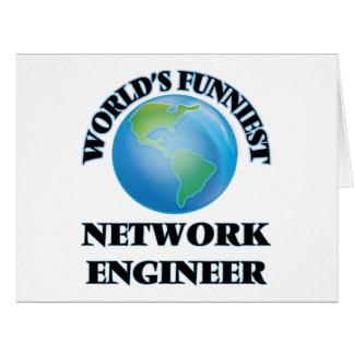 World's Funniest Network Engineer Card