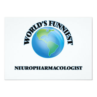World's Funniest Neuropharmacologist Cards