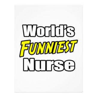 World's Funniest Nurse Flyers