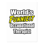 World's Funniest Occupational Therapist Postcards