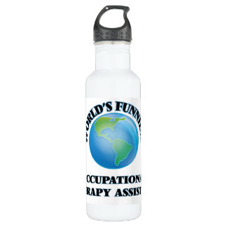 World's Funniest Occupational Therapy Assistant Water Bottle