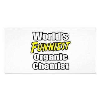 World's Funniest Organic Chemist Photo Card