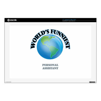 World's Funniest Personal Assistant Laptop Skin