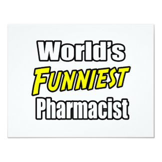 World's Funniest Pharmacist Card