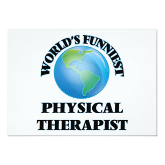 World's Funniest Physical Therapist Card