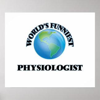World's Funniest Physiologist Print