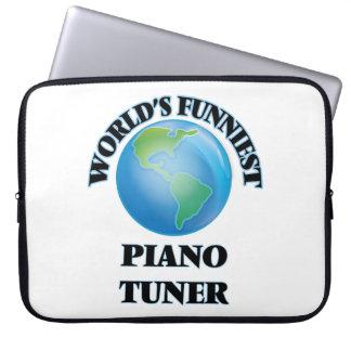World's Funniest Piano Tuner Laptop Sleeve