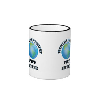 World's Funniest Pipe Fitter Coffee Mug