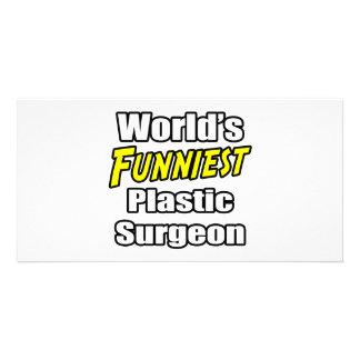 World's Funniest Plastic Surgeon Photo Card