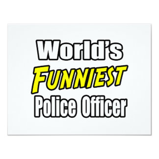 World's Funniest Police Officer Announcements