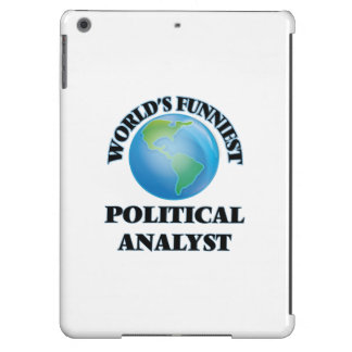 World's Funniest Political Analyst Cover For iPad Air