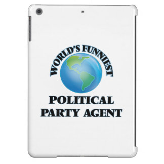 World's Funniest Political Party Agent iPad Air Covers