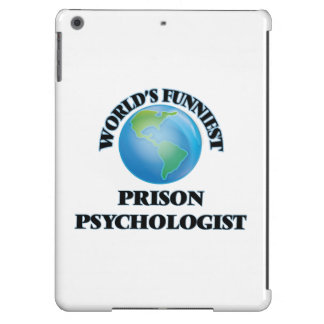 World's Funniest Prison Psychologist iPad Air Covers