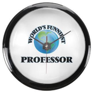 World's Funniest Professor Aquavista Clock