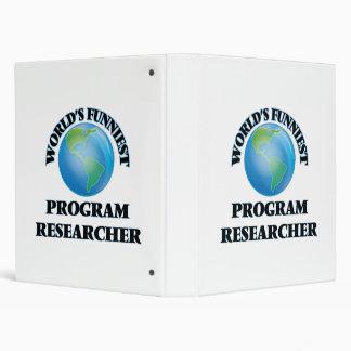 World's Funniest Program Researcher Binder