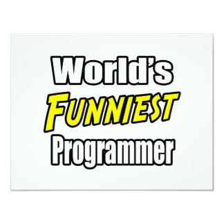 World's Funniest Programmer Invites