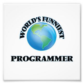 World's Funniest Programmer Photographic Print