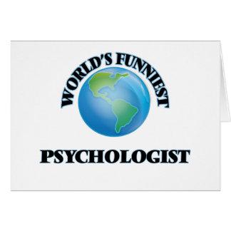 World's Funniest Psychologist Cards