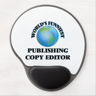 World's Funniest Publishing Copy Editor Gel Mouse Mat