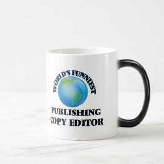 World's Funniest Publishing Copy Editor Coffee Mug