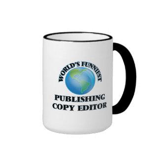 World's Funniest Publishing Copy Editor Mug