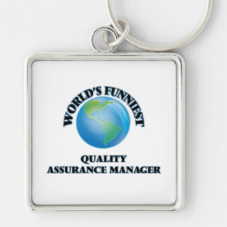 World's Funniest Quality Assurance Manager Key Chains