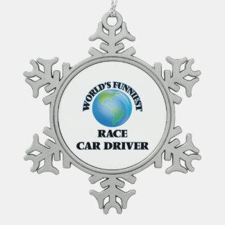 World's Funniest Race Car Driver Ornaments