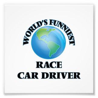 World's Funniest Race Car Driver Photo Print