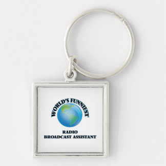 World's Funniest Radio Broadcast Assistant Keychains