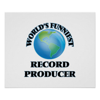 World's Funniest Record Producer Poster