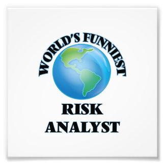 World's Funniest Risk Analyst Photo Art